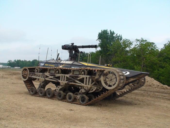 Ripsaw tank.