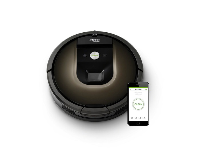 iRobot's Rooma 980 with HOME App