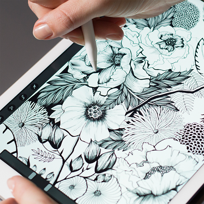 iPad Pro and Apple Pencil.