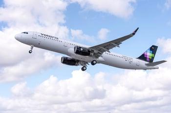 Airline-Volaris plane A320 VLRS