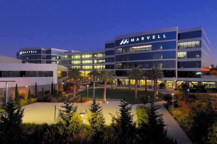Marvell Technology campus.