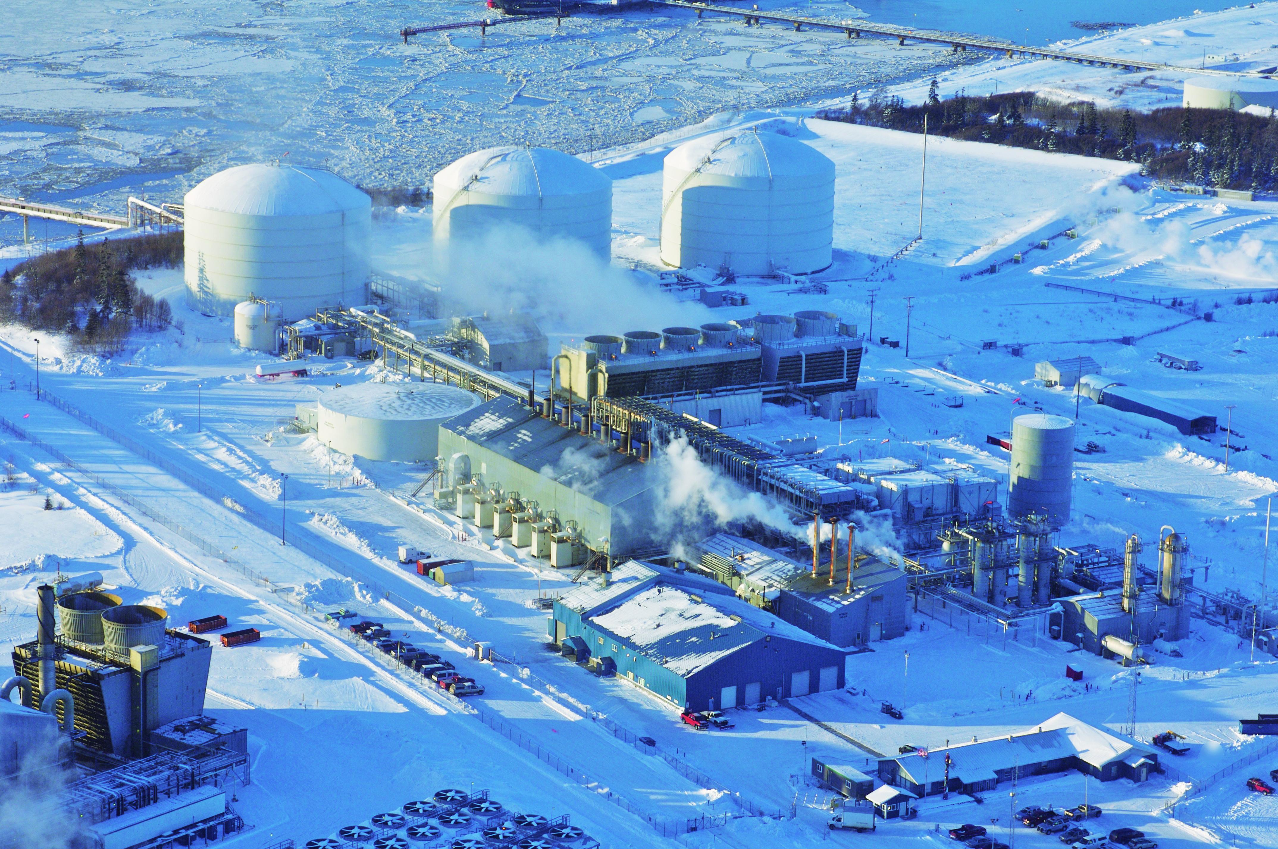 Kenai LNG Plant in Alaska.