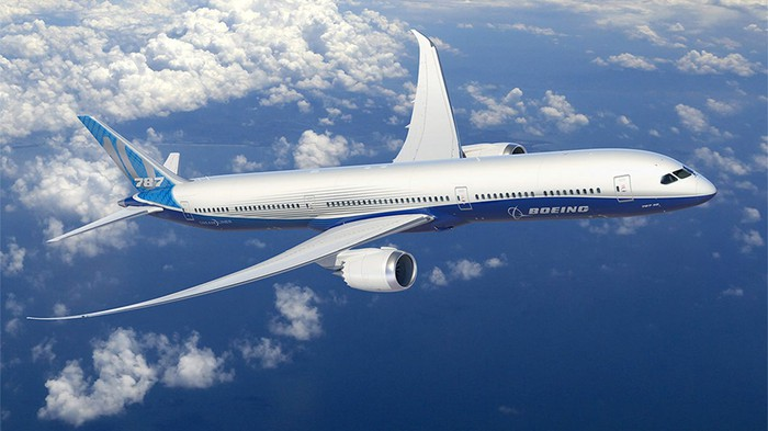 The Boeing 787.