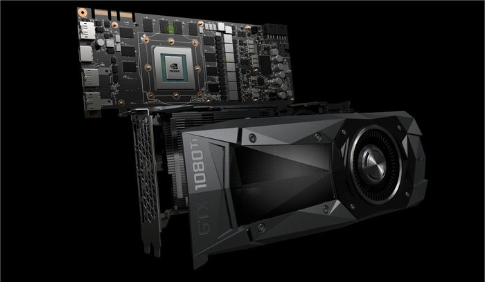 NVIDIA's high-end GTX 1080 Ti GPU.