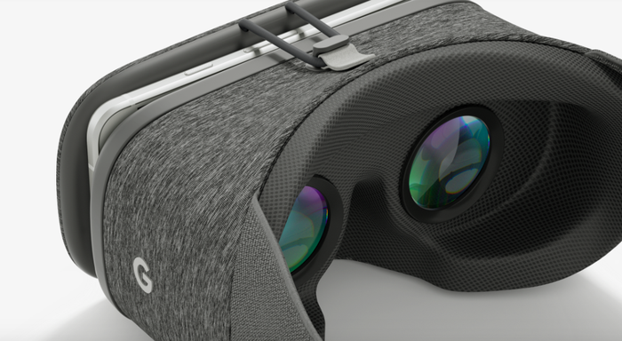 Google's Daydream View mobile virtual reality headset.
