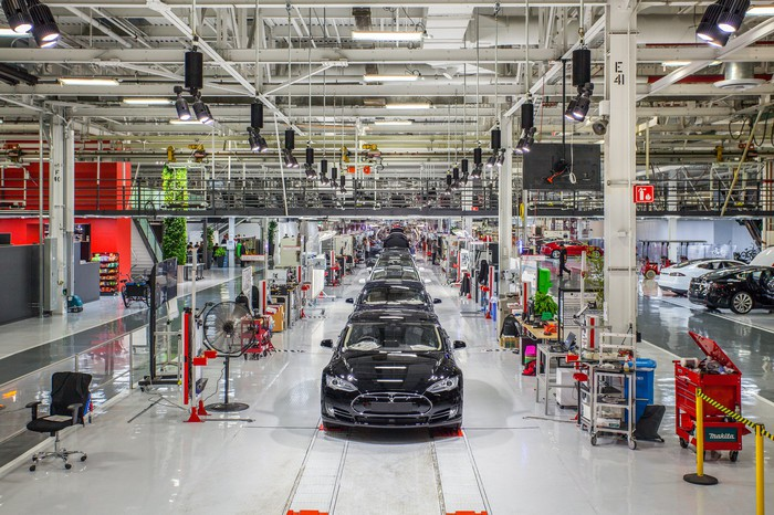 Tesla factory in Fremont