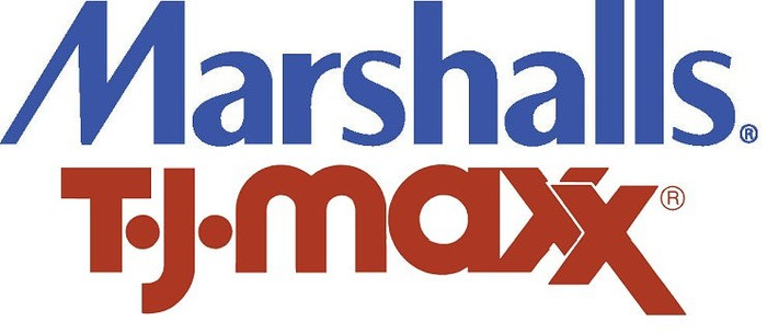 The Marshalls and T.J. Maxx logos.
