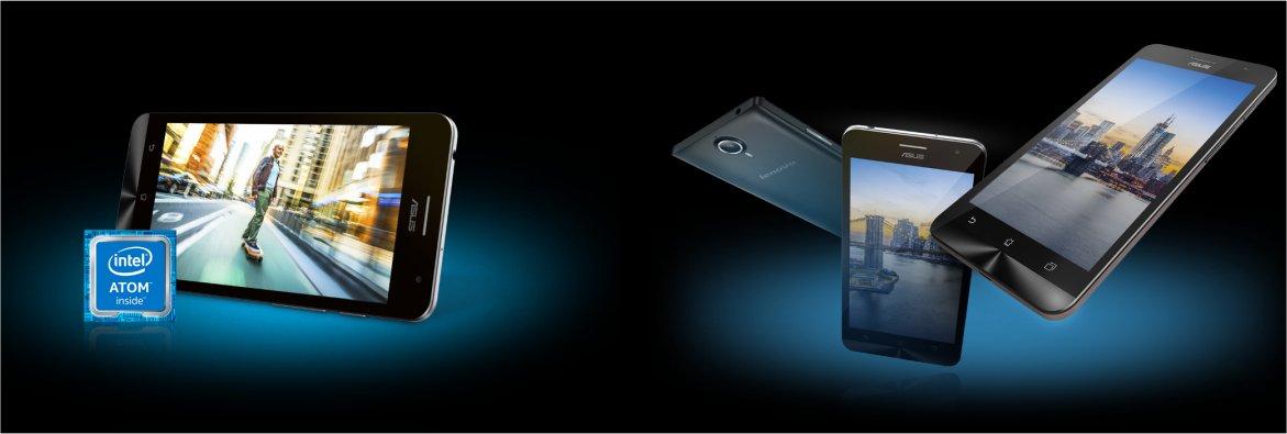Intel's Atom-powered smartphones.
