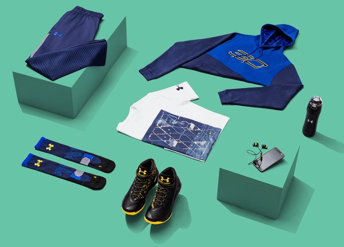 Under Armour's Steph Curry products
