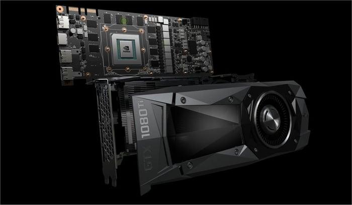 NVIDIA's 1080 Ti GPU.