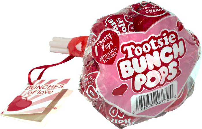 A bag of Tootsie Pops
