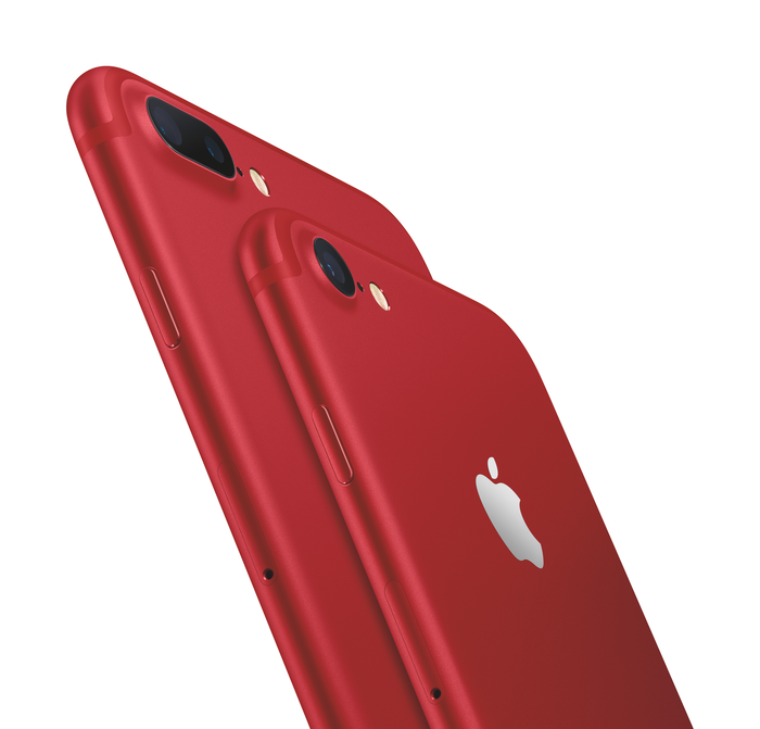 Special edition red iPhone 7