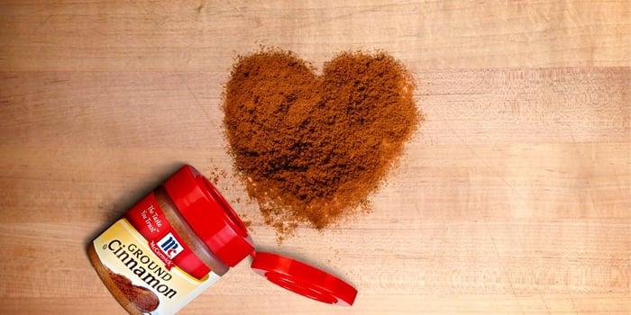 McCormick Cinnamon spice.