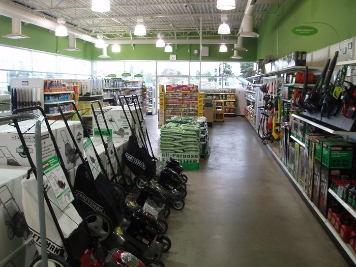 Sears lawn and garden center