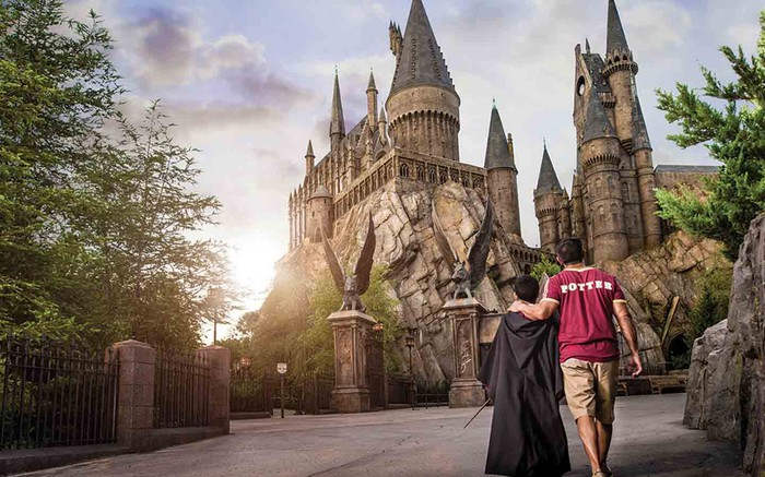 Hogwarts Castle at Universal Studios Florida.