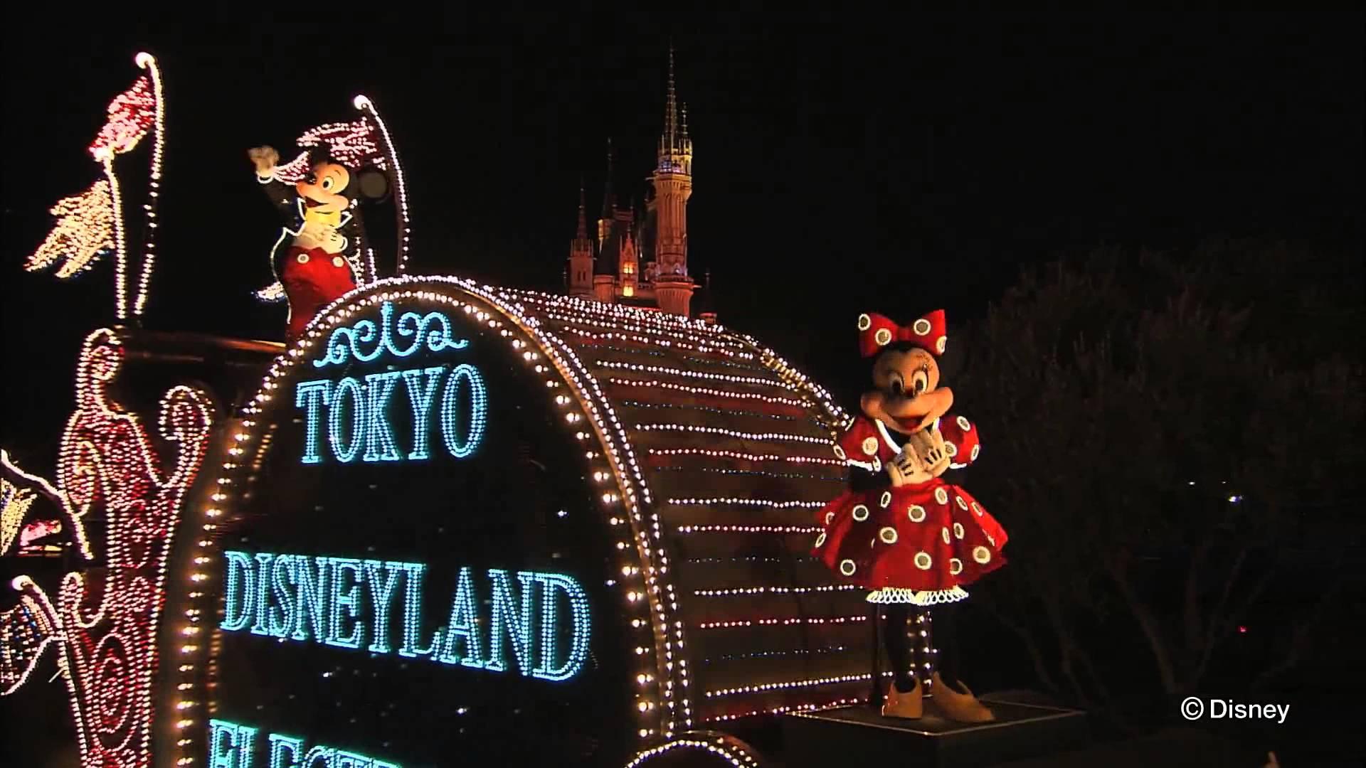 Parade at Disneyland Tokyo.