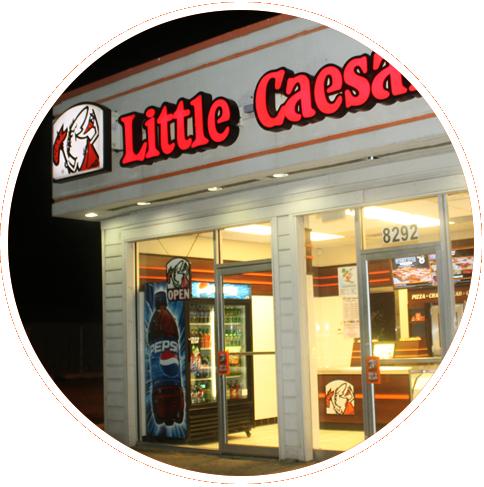 A Little Caesars restaurant