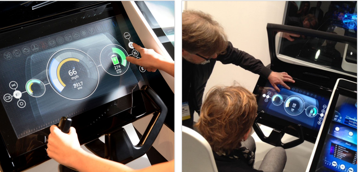 Next-generation car simulator.