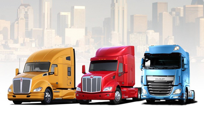 Some PACCAR trucks