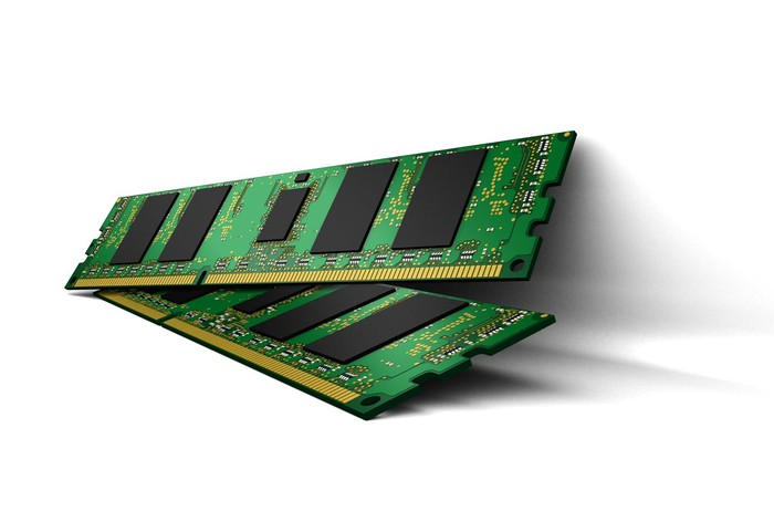 A registered memory module featuring Micron DRAM.