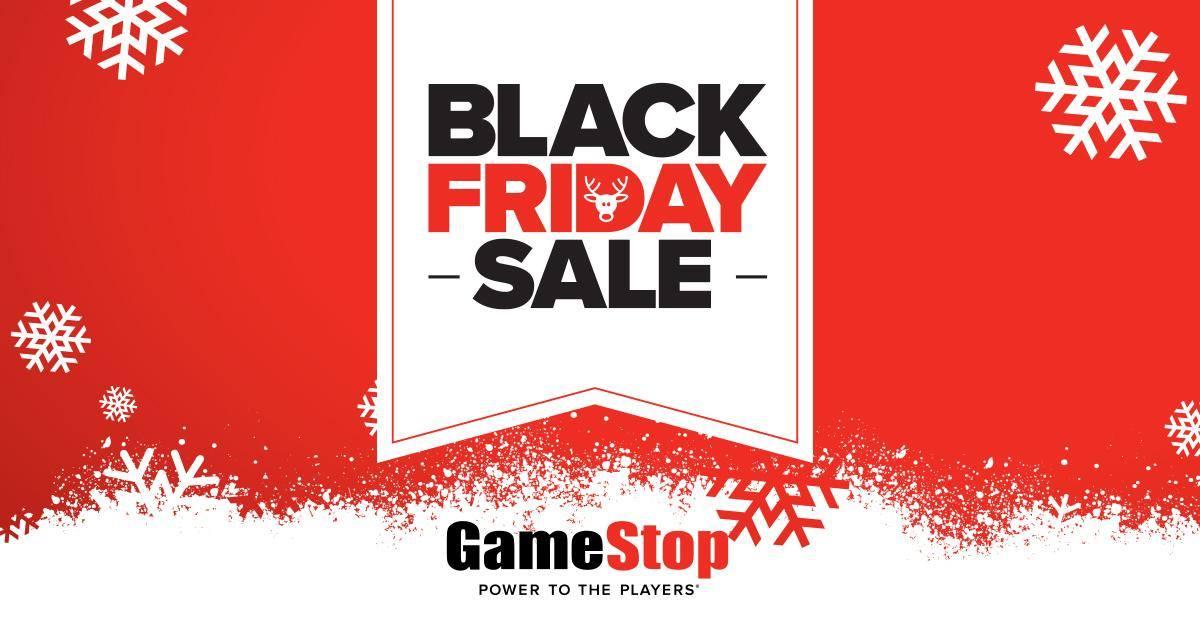 GameStop's sales promo for Black Friday 2016.