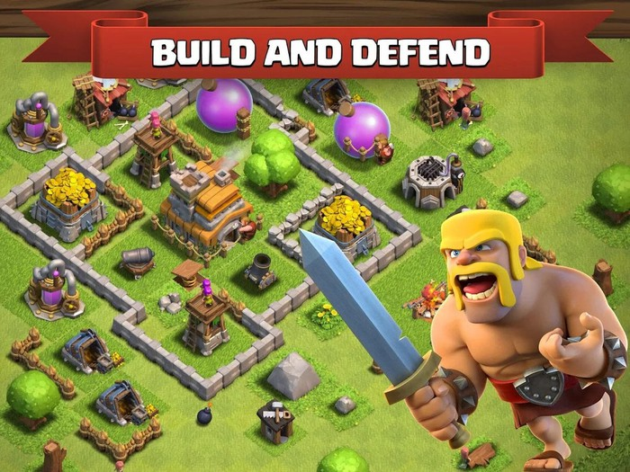 Supercell's Clash of Clans.