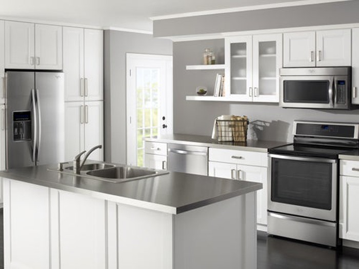 Whirlpool kitchen appliances available from Lowe's