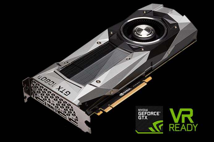 The new GeForce GTX 1080 Ti card.