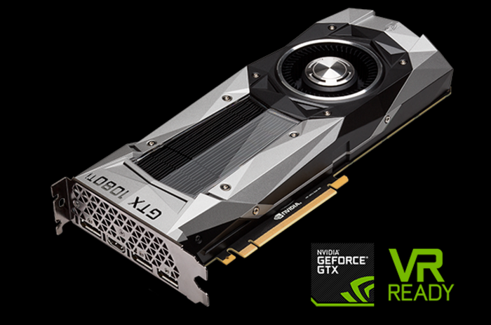 The new GeForce GTX 1080 Ti card.