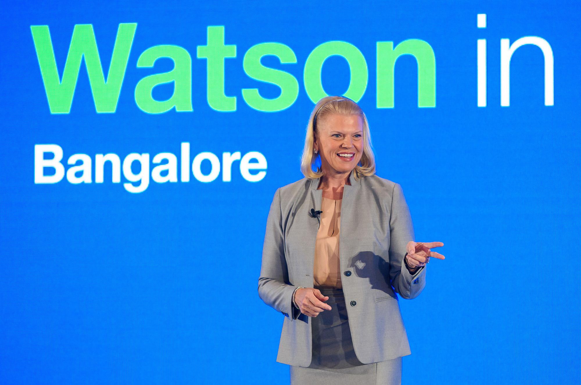 IBM CEO Ginni Rometty speaks about Watson.