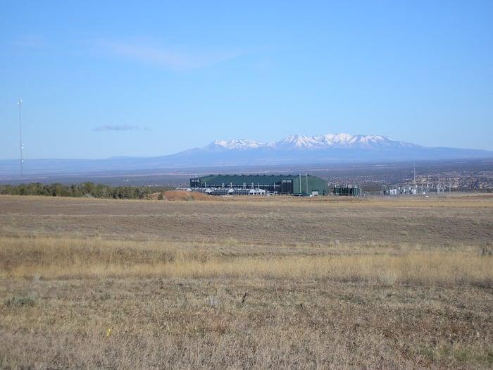 Kinder Morgan's Goodman Point CO2 field.