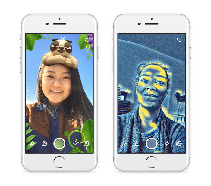 A look at some Camera Effects with Facebook's new in-app camera editor.