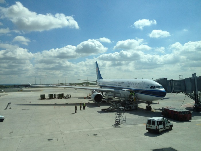 A China Southern Airlines plane