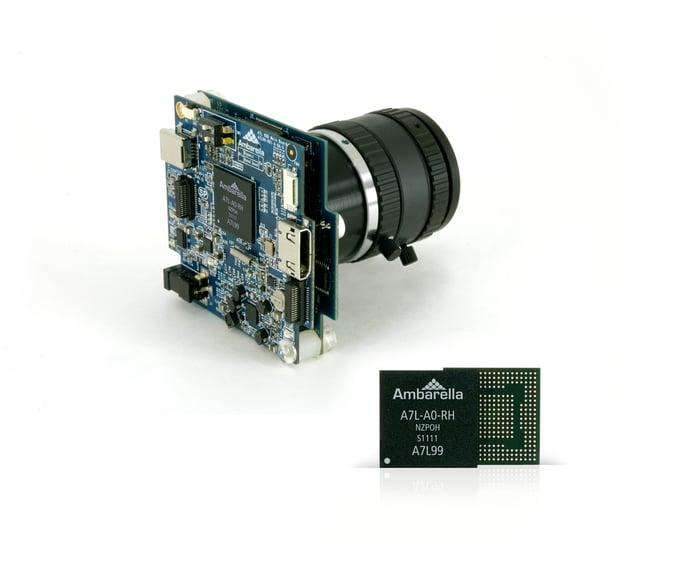 An Ambarella video chip.