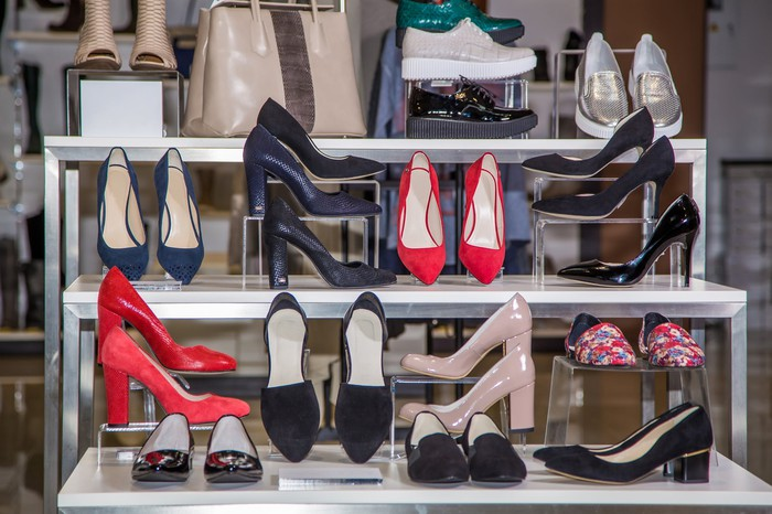 Women's shoes on sale.