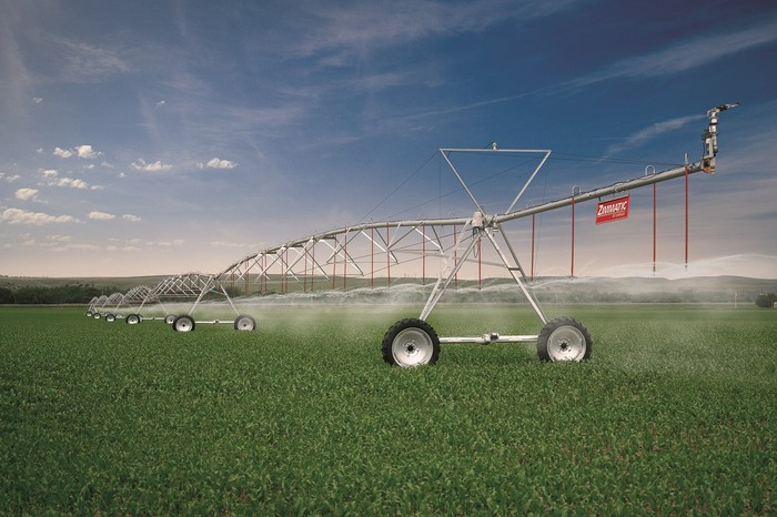 Lindsay Corporation's Zimmatic watering system
