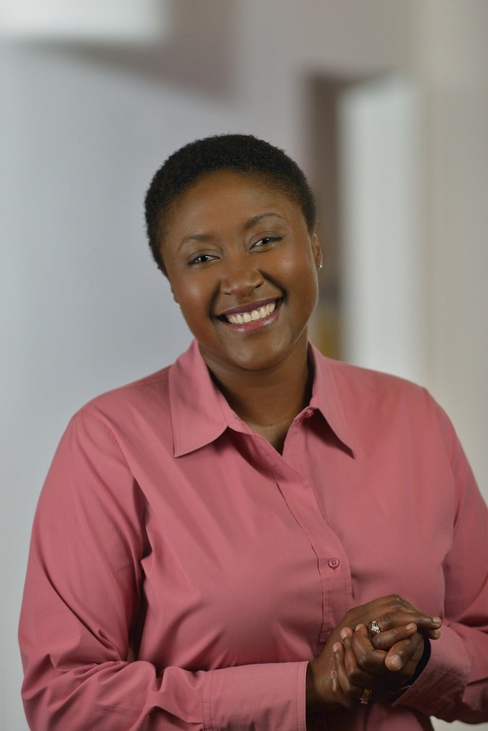 Intel's chief strategy officer, Aicha Evans