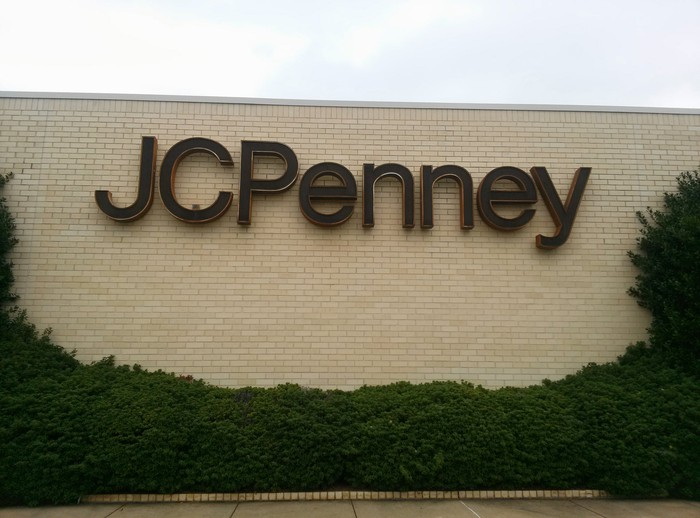 The exterior of J.C. Penney store