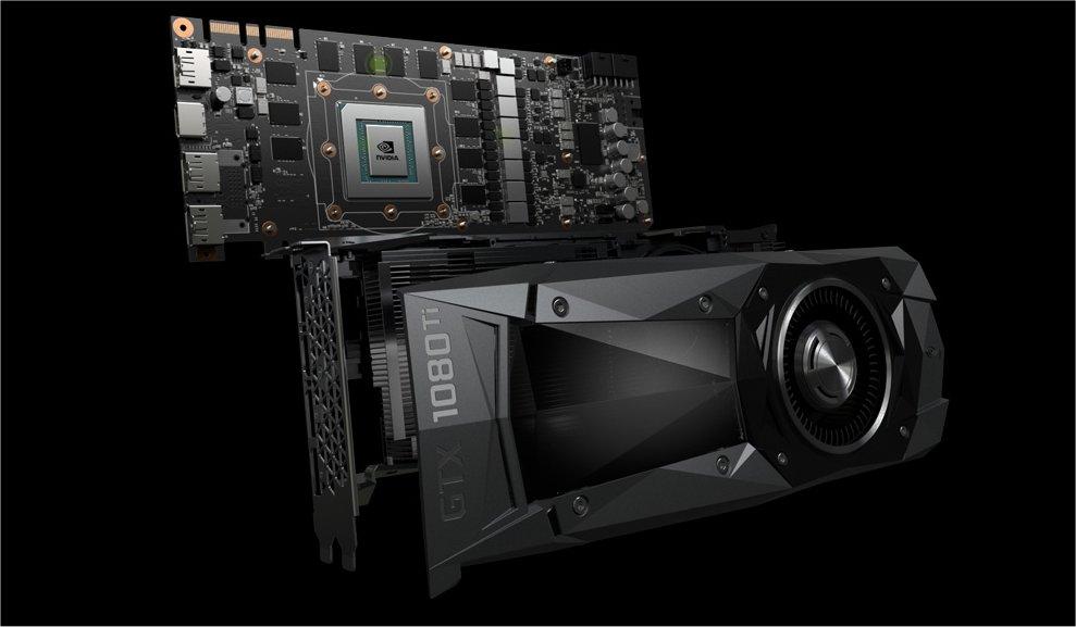 NVIDIA's high-end GTX 1080 Ti.