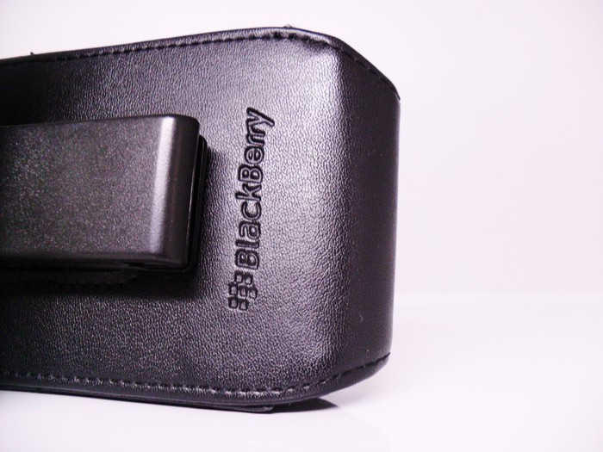 A Blackberry phone case.
