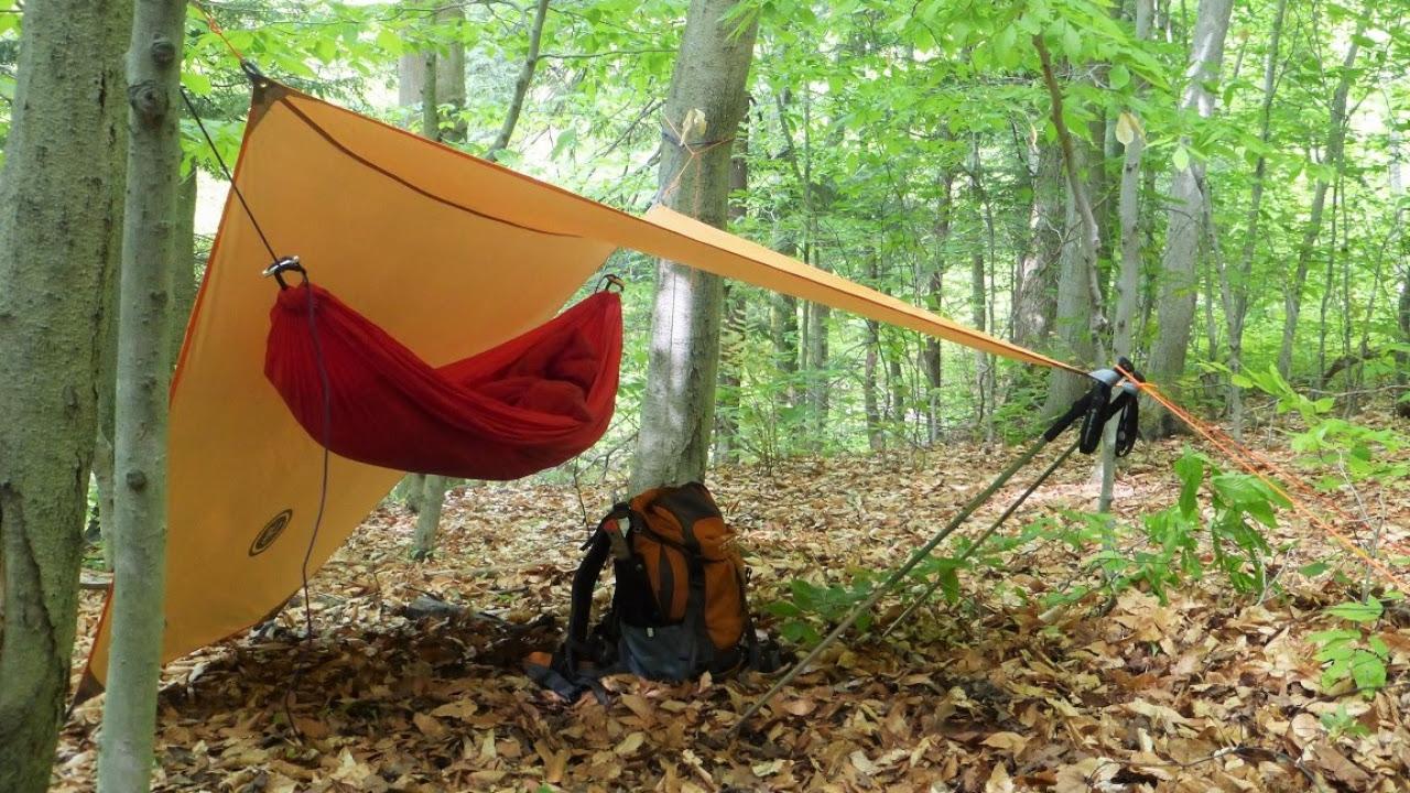 A UST tarp shelter