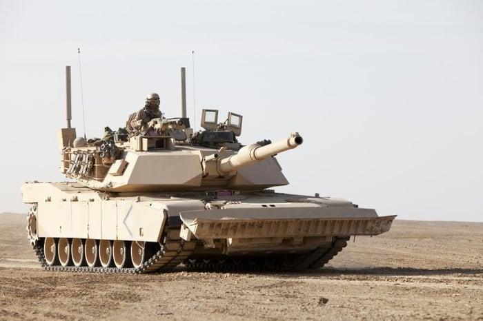 A General Dynamics tank.
