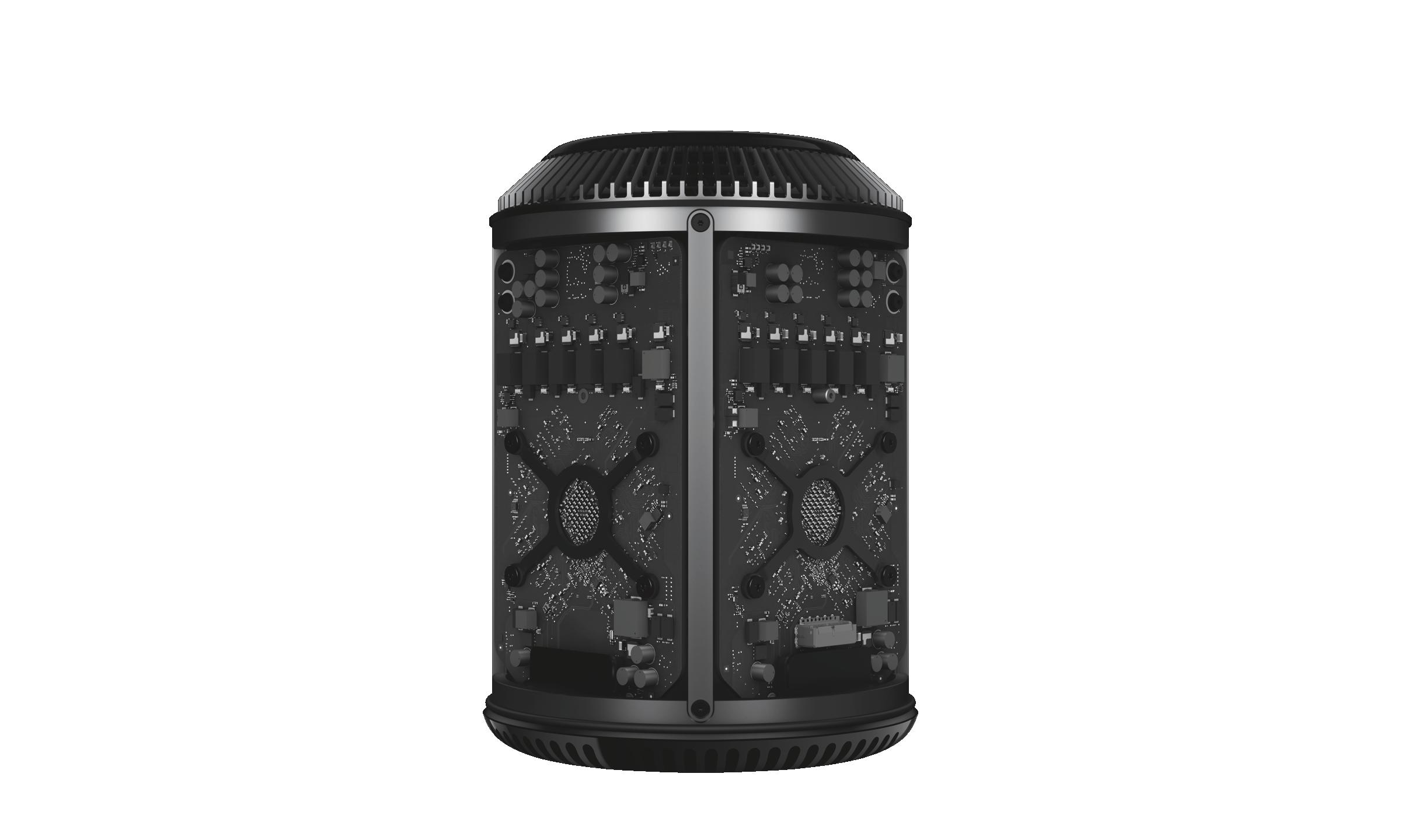 Tearaway rendering of Mac Pro