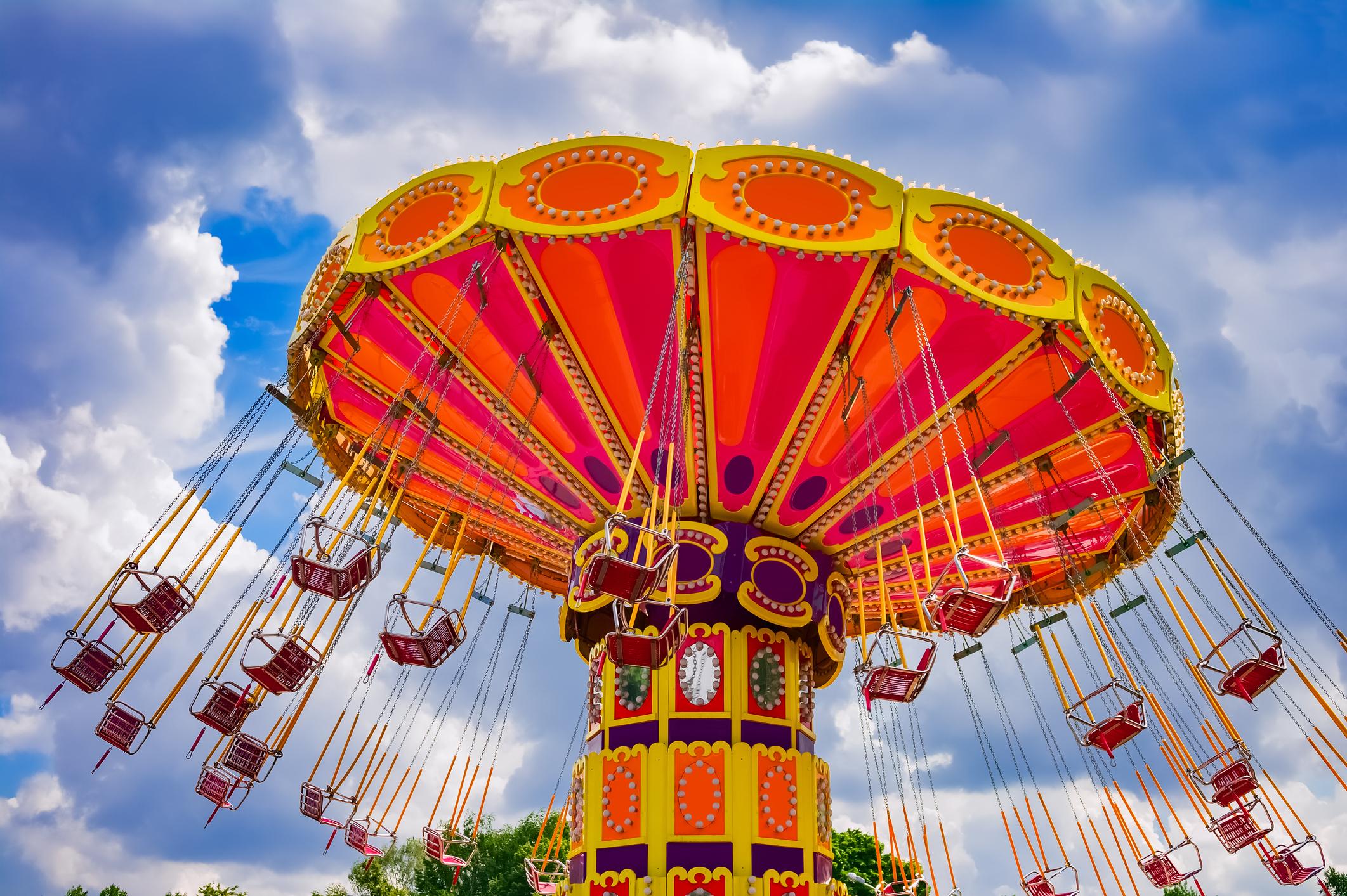 Ride at an amusement park.