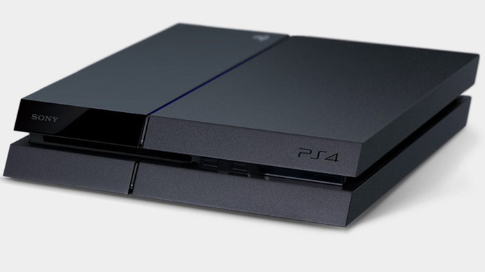 The Sony PlayStation 4.