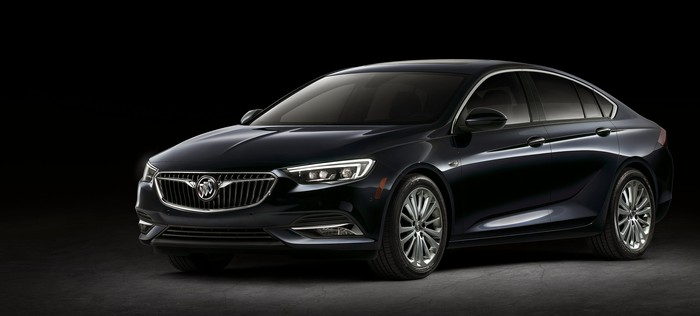 The New Regal Sportback A 4 Door Car With Hatch Like Rear 2018 Buick