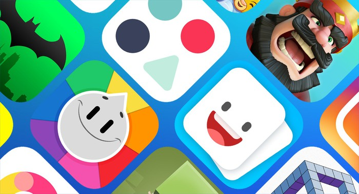 Various app icons.