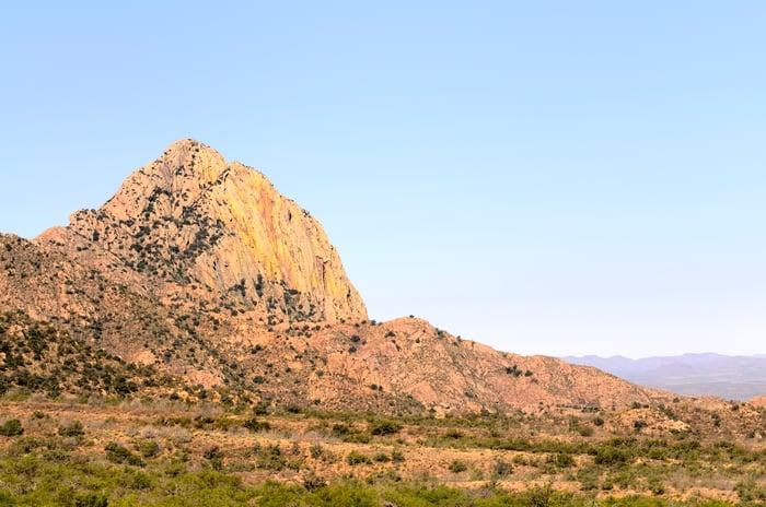 Santa Rita mountains south of Tucson, Arizona