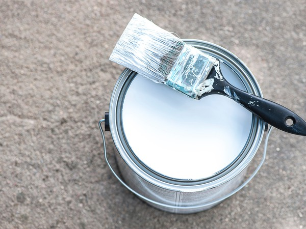 Getty Paint Can White