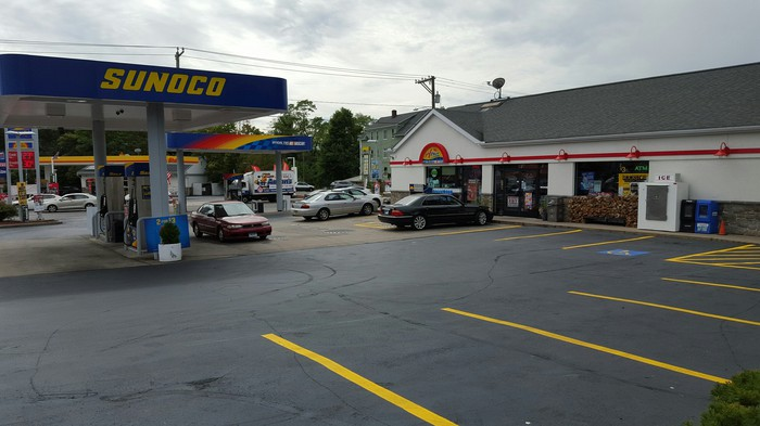 Sunoco location in Connecticut.
